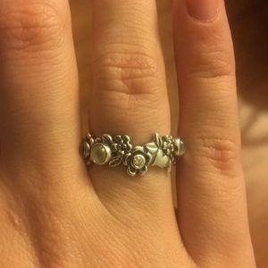 Retired Pandora Nature's Serenity Ring